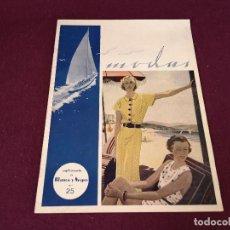 Collectionnisme de Magazine Blanco y Negro: MODAS, SUPLEMENTO DE BLANCO Y NEGRO, Nº 25. Lote 287095378