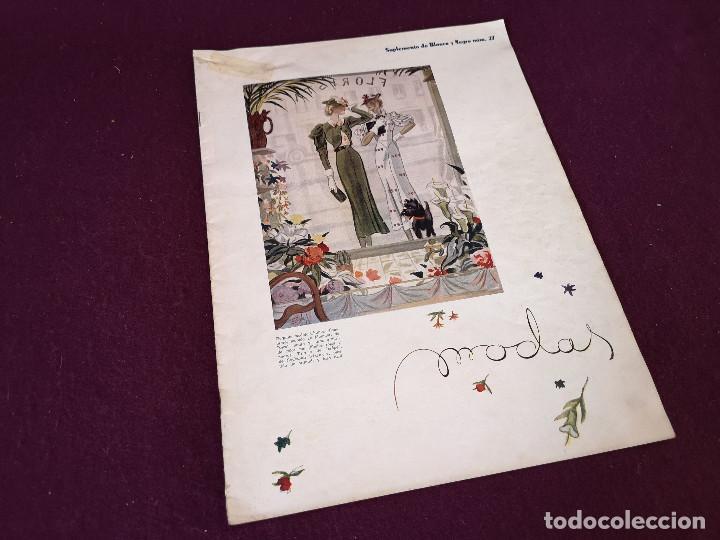 MODAS, SUPLEMENTO DE BLANCO Y NEGRO, Nº 27 (Coleccionismo - Revistas y Periódicos Modernos (a partir de 1.940) - Blanco y Negro)