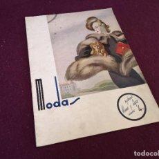 Collectionnisme de Magazine Blanco y Negro: MODAS, SUPLEMENTO DE BLANCO Y NEGRO, Nº 4. Lote 287095518