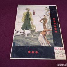 Collectionnisme de Magazine Blanco y Negro: MODAS, SUPLEMENTO DE BLANCO Y NEGRO, Nº 23. Lote 287095613