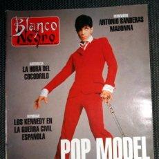 Coleccionismo de Revista Blanco y Negro: REVISTA BLANCO Y NEGRO NOVIEMBRE 1995 - ENTREVISTA A MADONNA - PRINCE - ANTONIO BANDERAS,.... Lote 287258283