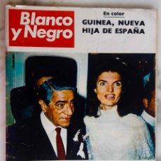 Coleccionismo de Revista Blanco y Negro: BLANCO Y NEGRO. NOVIEMBRE 1968.Nº 2948. BODA DE ONASSIS.MEJICO 68 JUEGOS OLIMPICOS.REVISTA. Lote 287983468