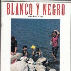Coleccionismo de Revista Blanco y Negro: REVISTA BLANCO Y NEGRO Nº 4159AÑO 1999. ELTON JOHN. LONDRES VIVIR DE LAS RENTAS. CENTROAMÉRICA.. Lote 289332553