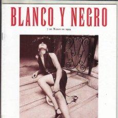 Coleccionismo de Revista Blanco y Negro: REVISTA BLANCO Y NEGRO Nº 4158 AÑO 1999. VICTORIONO MARTÍN. LOS NIETOS DE GATOPARDO.. Lote 289332858