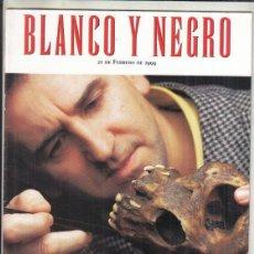 Coleccionismo de Revista Blanco y Negro: REVISTA BLANCO Y NEGRO Nº 4156 AÑO 1999. LOS MISTERIOS DE LA ESPECIA ELEGIDA.. Lote 289333998
