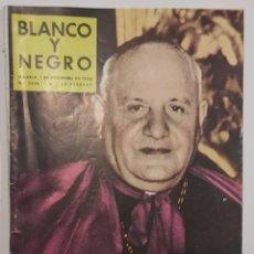 Coleccionismo de Revista Blanco y Negro: REVISTA BLANCO Y NEGRO. CARDENAL ANGEL JOSÉ RONCALLI. PAPA JUAN XIII. GOLF PUERTA DE HIERRO MADRID. Lote 289457653