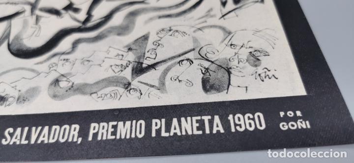 Coleccionismo de Revista Blanco y Negro: REPORTAJE EL ATENTADO TOMAS SALVADOR PREMIO PLANETA 1960 4 HOJAS - Foto 2 - 289478868