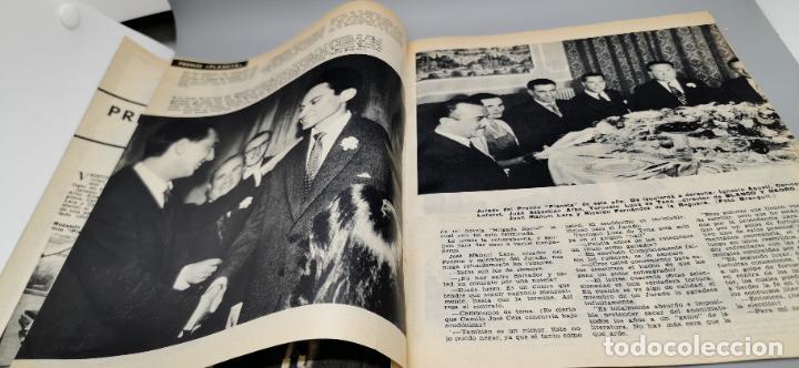 Coleccionismo de Revista Blanco y Negro: REPORTAJE EL ATENTADO TOMAS SALVADOR PREMIO PLANETA 1960 4 HOJAS - Foto 3 - 289478868