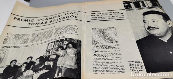 Coleccionismo de Revista Blanco y Negro: REPORTAJE EL ATENTADO TOMAS SALVADOR PREMIO PLANETA 1960 4 HOJAS - Foto 4 - 289478868