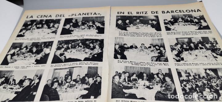 Coleccionismo de Revista Blanco y Negro: REPORTAJE EL ATENTADO TOMAS SALVADOR PREMIO PLANETA 1960 4 HOJAS - Foto 5 - 289478868