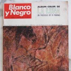 Coleccionismo de Revista Blanco y Negro: BLANCO Y NEGRO.Nº 2961.1 FEBRERO 1969. LA LUNA.PINTURAS RIBADESELLA MARISCAL TITO.REVISTA. Lote 289800998