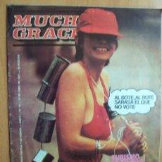 Coleccionismo de Revista Cambio 16: REVISTA DE HUMOR MUCHAS GRACIAS Nº 52 - 27 DE ABRIL DE 1977. Lote 17019820
