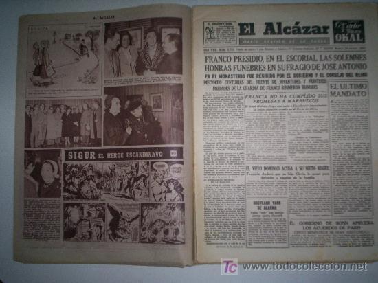 Coleccionismo de Revista Cambio 16: EL ALCÁZAR - Nº 5750 - AÑO 1954 - Foto 5 - 16877630