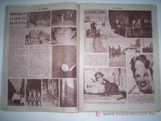 Coleccionismo de Revista Cambio 16: EL ALCÁZAR - Nº 5750 - AÑO 1954 - Foto 4 - 16877630