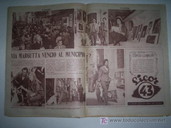 Coleccionismo de Revista Cambio 16: EL ALCÁZAR - Nº 5750 - AÑO 1954 - Foto 2 - 16877630