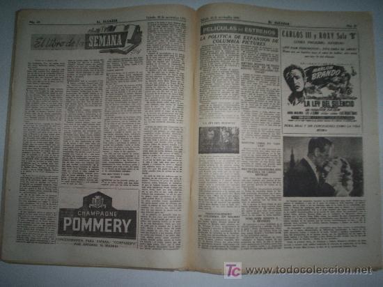 Coleccionismo de Revista Cambio 16: EL ALCÁZAR - Nº 5750 - AÑO 1954 - Foto 3 - 16877630