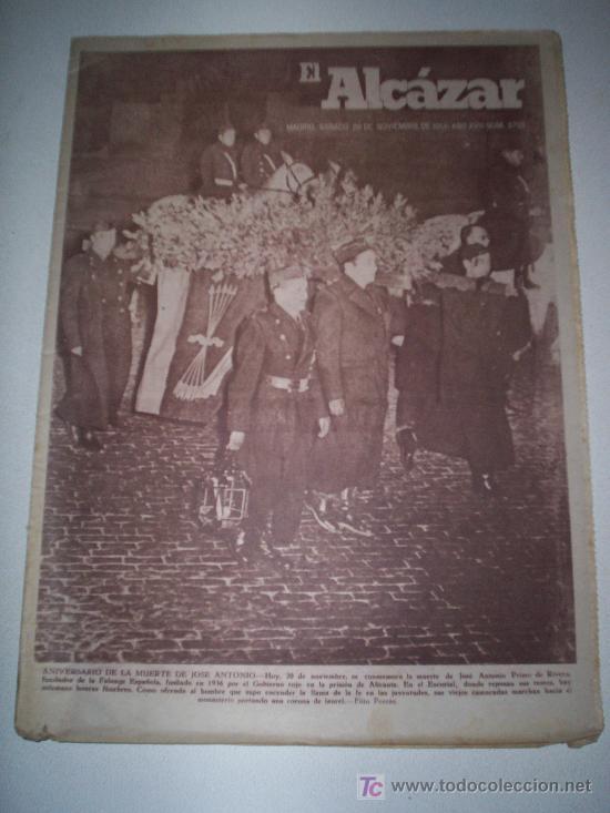 EL ALCÁZAR - Nº 5750 - AÑO 1954 (Coleccionismo - Revistas y Periódicos Modernos (a partir de 1.940) - Revista Cambio 16)