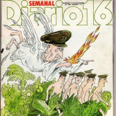 Coleccionismo de Revista Cambio 16: REVISTA SEMANAL DE DIARIO 16. Lote 8646856