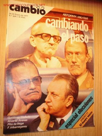 REVISTA - CAMBIO 16 - Nº 268, ENERO 1977. (Coleccionismo - Revistas y Periódicos Modernos (a partir de 1.940) - Revista Cambio 16)