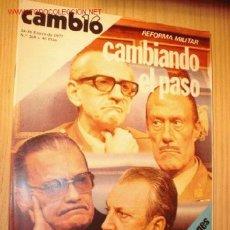 Coleccionismo de Revista Cambio 16: REVISTA - CAMBIO 16 - Nº 268, ENERO 1977.. Lote 1669716