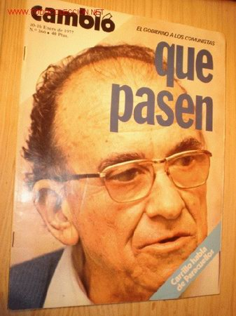 REVISTA - CAMBIO 16 - Nº 266, ENERO 1977. (Coleccionismo - Revistas y Periódicos Modernos (a partir de 1.940) - Revista Cambio 16)