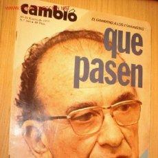 Coleccionismo de Revista Cambio 16: REVISTA - CAMBIO 16 - Nº 266, ENERO 1977. . Lote 1669809