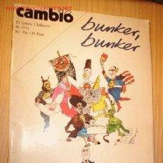 Coleccionismo de Revista Cambio 16: REVISTA - CAMBIO 16 - Nº 216, FEBRERO 1976. . Lote 1673421