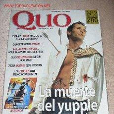 Coleccionismo de Revista Cambio 16: QUO - Nº 2.. Lote 16971707