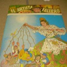 Coleccionismo de Revista Cambio 16: FALLAS VALENCIA , FALLA, FALLERO,FALLERA, FALLER, REVISTA EL ARTISTA FALLERO. Lote 16770098