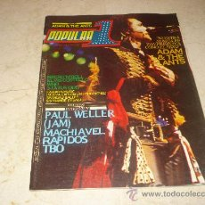 Coleccionismo de Revista Cambio 16: POPULAR 1 Nº 95 - MAYO 1981 - PORTADA ADAM AND THE ANTS. Lote 16798771