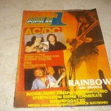Coleccionismo de Revista Cambio 16: POPULAR 1 Nº 114 - DICIEMBRE 1982 -CON POSTERS DE KRAFTWERK Y MICHAEL SCHENKER. Lote 16816163