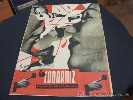 REVISTA LA CODORNIZ - Nº 465 - 8 OCTUBRE 1.950 - (Coleccionismo - Revistas y Periódicos Modernos (a partir de 1.940) - Revista Cambio 16)