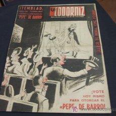 Coleccionismo de Revista Cambio 16: REVISTA LA CODORNIZ - Nº 468 - 29 OCTUBRE 1.950 - . Lote 16901575