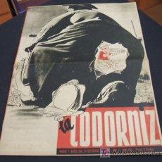 Coleccionismo de Revista Cambio 16: REVISTA LA CODORNIZ - Nº 463 - 24 SEPTIEMBRE 1.950 - . Lote 16901708