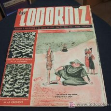 Coleccionismo de Revista Cambio 16: REVISTA LA CODORNIZ - Nº 456 - 6 AGOSTO 1.950 - . Lote 16901718