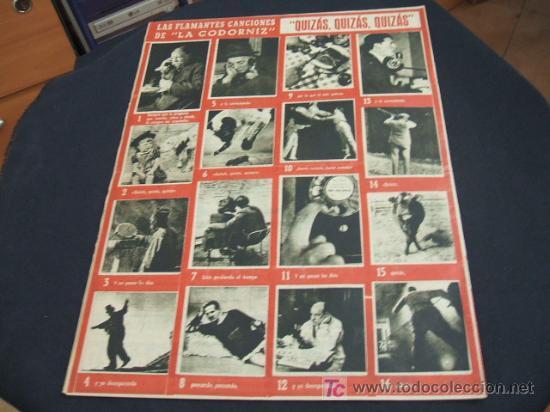 Coleccionismo de Revista Cambio 16: REVISTA LA CODORNIZ - Nº 465 - 8 OCTUBRE 1.950 - - Foto 2 - 16901441