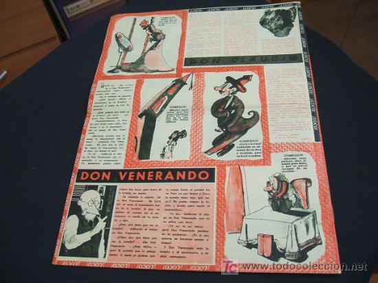 Coleccionismo de Revista Cambio 16: REVISTA LA CODORNIZ - Nº 428 - 22 ENERO 1.950 - - Foto 2 - 16901767