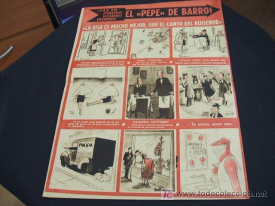 Coleccionismo de Revista Cambio 16: REVISTA LA CODORNIZ - Nº 467 - 22 OCTUBRE 1.950 - - Foto 2 - 16901807
