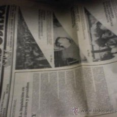 Coleccionismo de Revista Cambio 16: SOLIDARIDAD OBRERA AIT CNT DE CATALUÑA PERIODICO ANTIGUO 1979 BARCELONA Nº 58 Y Nº 51 . Lote 16926256