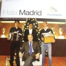 Coleccionismo de Revista Cambio 16: REVISTA HALA MADRID Nº 33, DICIEMBRE 2009-FEBRERO 2010. LA REVISTA EXCLUSIVA DE LOS MADRIDISTAS. Lote 16932079