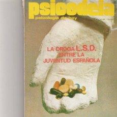 Coleccionismo de Revista Cambio 16: PSICODEIA - PSICOLOGIA DE HOY - Nº 63 -. Lote 16971267