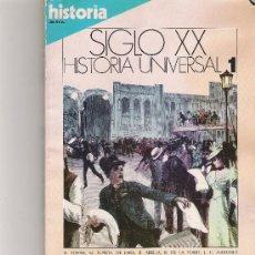 Coleccionismo de Revista Cambio 16: SIGLO XX - HISTORIA UNIVERSAL 1 - CAMBIO16 -. Lote 16971457