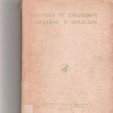 Coleccionismo de Revista Cambio 16: REVISTA DE PSICOLOGIA GENERAL Y APLICADA - VOL IX - Nº 30 Y 31 - . Lote 16971667