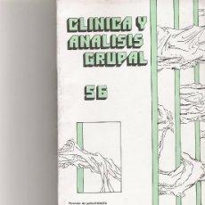 Coleccionismo de Revista Cambio 16: CLINICA Y ANALISIS GRUPAL Nº 56. Lote 16972606