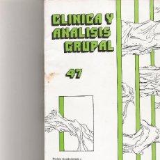 Coleccionismo de Revista Cambio 16: CLINICA Y ANALISIS GRUPAL Nº 47. Lote 16972614