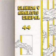 Coleccionismo de Revista Cambio 16: CLINICA Y ANALISIS GRUPAL Nº 44. Lote 16972623