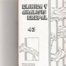 Coleccionismo de Revista Cambio 16: CLINICA Y ANALISIS GRUPAL Nº 43. Lote 16972645