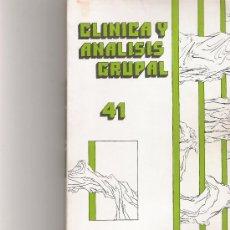 Coleccionismo de Revista Cambio 16: CLINICA Y ANALISIS GRUPAL Nº 41. Lote 16972653