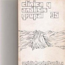 Coleccionismo de Revista Cambio 16: CLINICA Y ANALISIS GRUPAL Nº 35. Lote 16972688