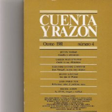 Coleccionismo de Revista Cambio 16: CUENTA Y RAZON Nº 4. Lote 16972778